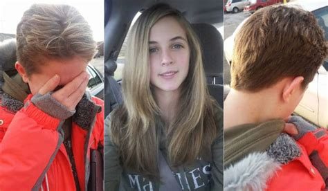 father oif teenager cut hair to look like george jefferson dad chops off teen daughter s hair after mom gets her