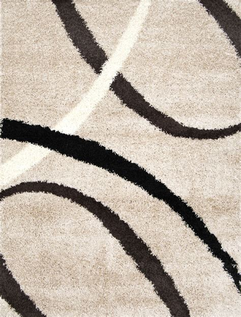 Contemporary Shag Area Rugs with Modern Shag Abstract Area Rug 5x7 Contemporary Flokati Carpet Actual 4 9 Quot X6 6 Quot Ebay