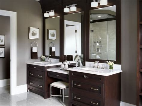 60 bathroom vanity ideas with makeup station round decor