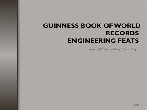 engineering record book impressive building and engineering feats