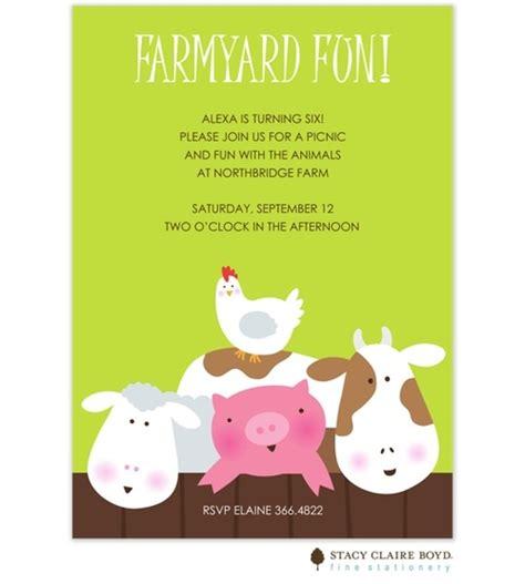 farm themed birthday invitations 1000 images about farm birthday theme on pinterest