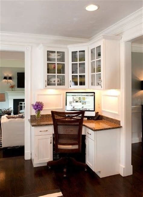 the corner desk kitchen ideas