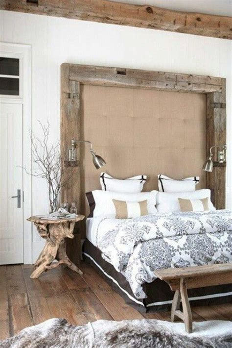 Rustic Master Bedroom Designs Natural Brown Wooden Trunk Bed Yellow Curtain Glass Window White » Home Design 2017