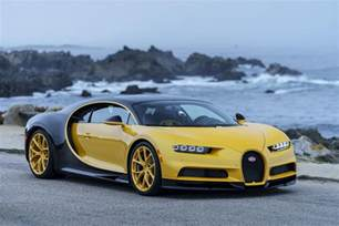Bugatti And The Bugatti Chiron In The Us Is Yellow Roadshow