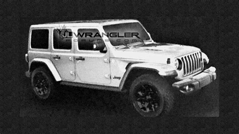 jeep wrangler unlimited 2018 2018 jeep wrangler unlimited rubicon leaked images