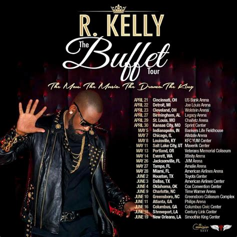 Tour Announced by R Announces Quot The Buffet Quot Tour R