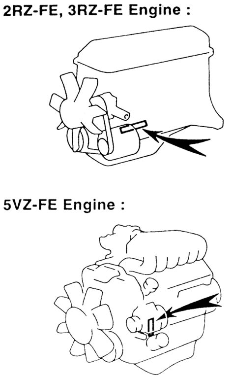 Toyota Engine Number Lookup Repair Guides Serial Number Identification Engine