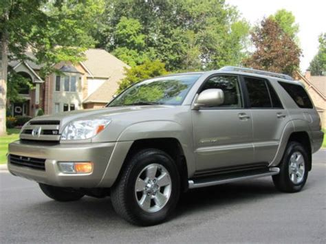 04 Toyota 4runner Find Used 04 4runner Limited 4wd 4x4 4 7l V8 Auto Leather