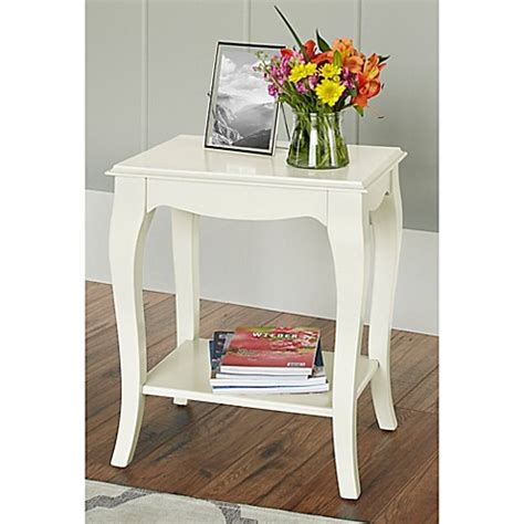 bed bath and beyond helena mt buy chatham house helena side table in ivory from bed bath