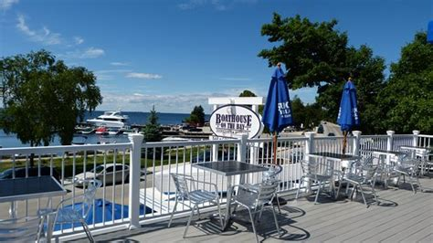 boat house on the bay boathouse on the bay sister bay restaurant reviews