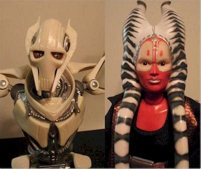 Shaak Ti Tipe 2 Wars Hasbro 12 inch shaak ti and grievous figures another review by michael captain