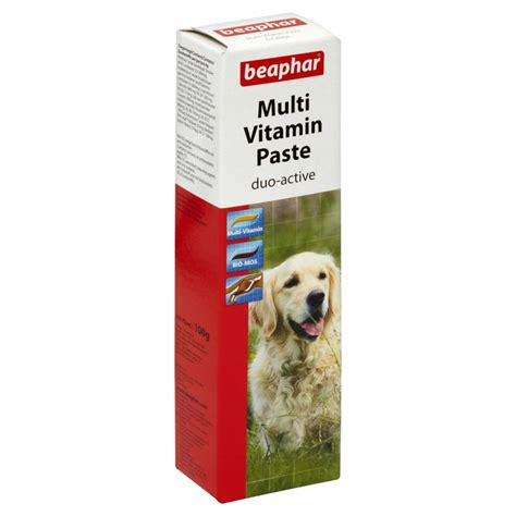 biotin for dogs beaphar multi vitamin paste with biotin 250g