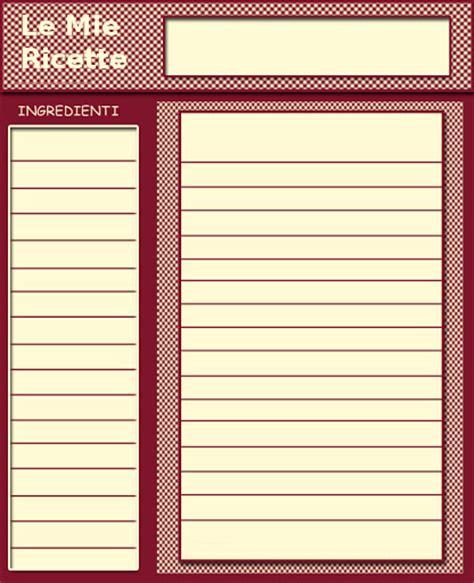 ricettario cucina pdf ricette