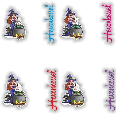 Thermomix Aufkleber Hexenkessel by Hexe Hexenkessel Digitaldruck Aufkleber Sticker F