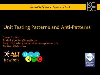 observer pattern unit test ppt the 5 patterns in nature powerpoint presentation