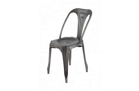 chaise metal pas cher chaise metal industriel pas cher