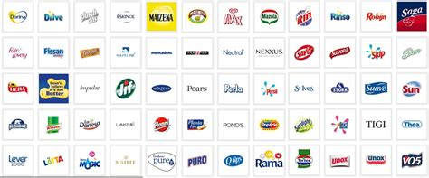 layout strategy of unilever unilever brands www pixshark com images galleries with