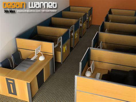 Meja Warnet gambar desain interior warnet p3lit4 s