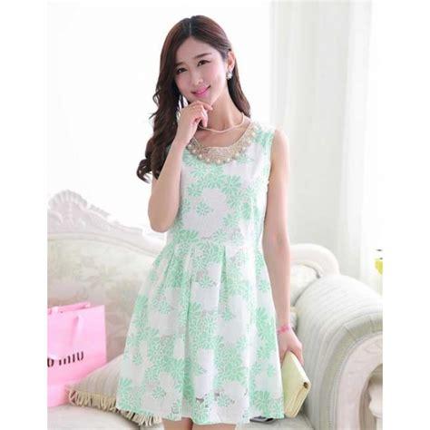dress wanita model korea d1631 moro fashion