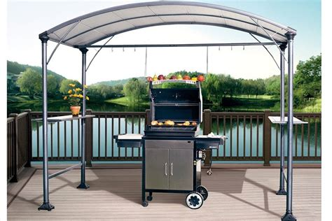 barbeque gazebo abba patio 9 x 5 outdoor backyard bbq grill