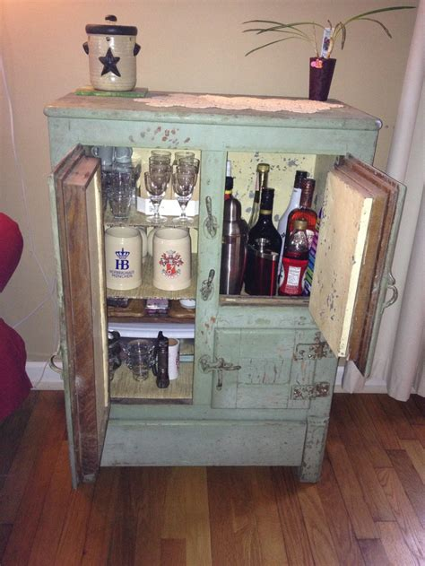 build antique ice box woodworking projects plans