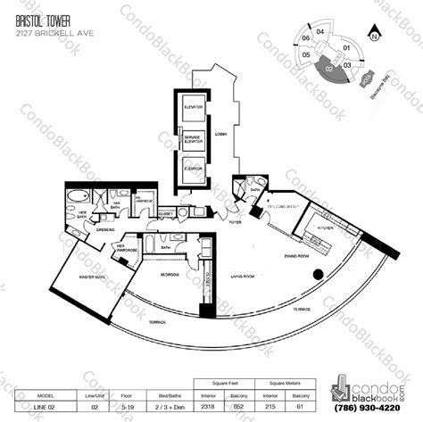 miami condo floor plans bristol tower condominium unit 2802 condo for sale in