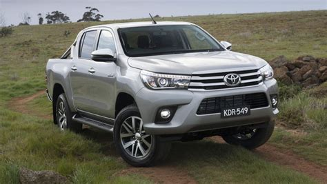 Toyota Hilux Silver Toyota Hilux 2018 Pricing And Spec Confirmed Car News