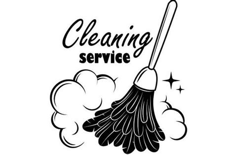 Cleaning Logo 1 Maid Service Housekeeper Housekeeping Clean House Room Svg Eps Png Digital Cleaning Services Logo Templates