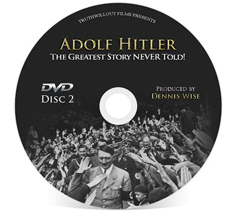 hitler biography dvd the greatest story never told 4 disc dvd truth will out