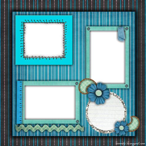 templates for scrapbook pages free printable scrapbook layouts blue and stripes layout