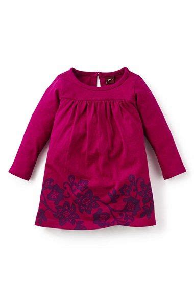 Floral print long sleeve dress baby girls available at nordstrom