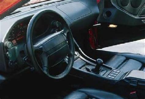 porsche 928 interior howstuffworks