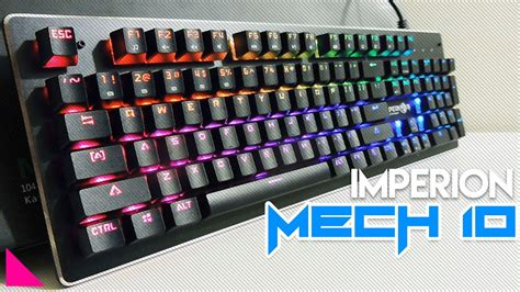 Grosir Imperion Mech 7 Rgb Tkl Mechanical Keyboard 5 keyboard gaming mechanical rgb terbaik dan paling murah