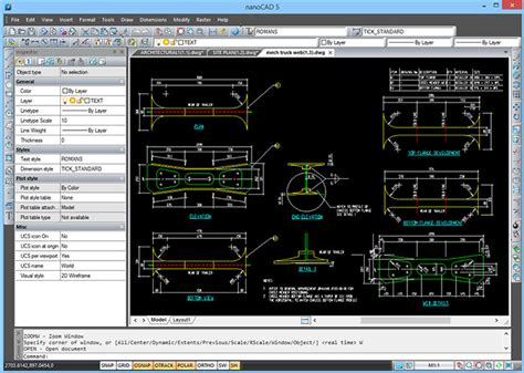 nanosoft products effective cad software  dwg files