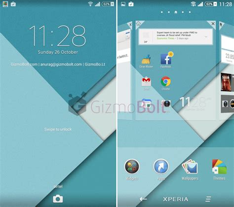 xperia themes material design install xperia material experiance theme for non rooted