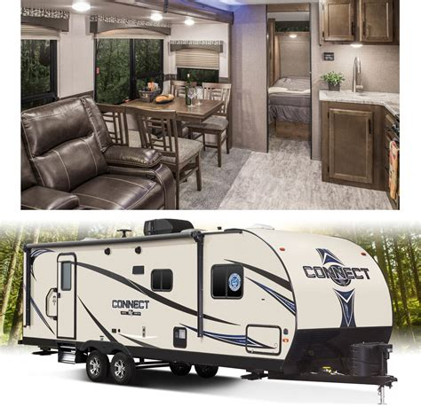 connect lightweight travel trailers k z rv