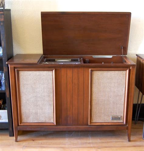 mid century stereo cabinet zenith mid century stereo console w turntable covet