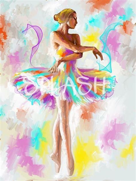 cuadros baratos decoracion cuadros modernos pintados a mano baratos bailarinas