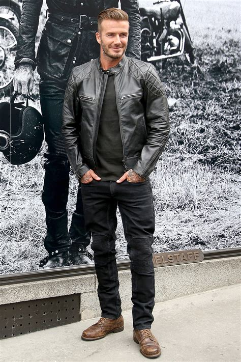 David Beckham Wardrobe by The David Beckham Look Book Photos Gq