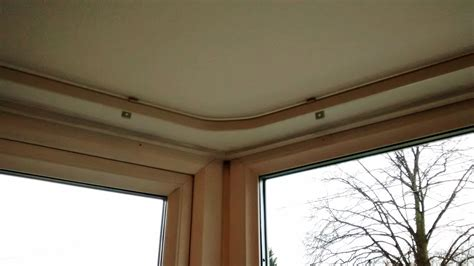 curtains rails ceiling bay window curtain tracks that look great and work even better