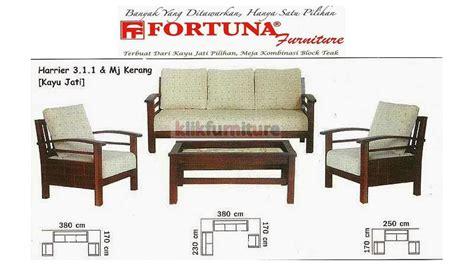 Kursi Tamu Fortuna sofa harrier 311 fortuna sofa jati harga agen