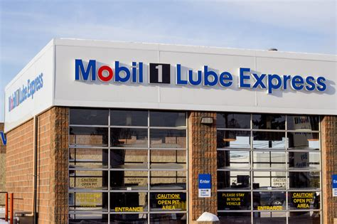 mobile lube express mobil 1 lube express