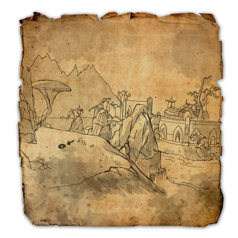 stonefalls treasure map stonefalls treasure maps elder scrolls wiki