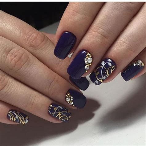 nail colors and designs 30 blue nail designs nenuno creative