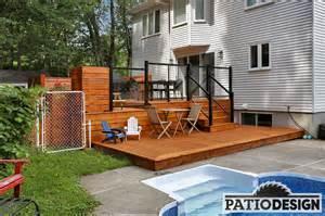 Designer Patio conception fabrication et installation de patios nos