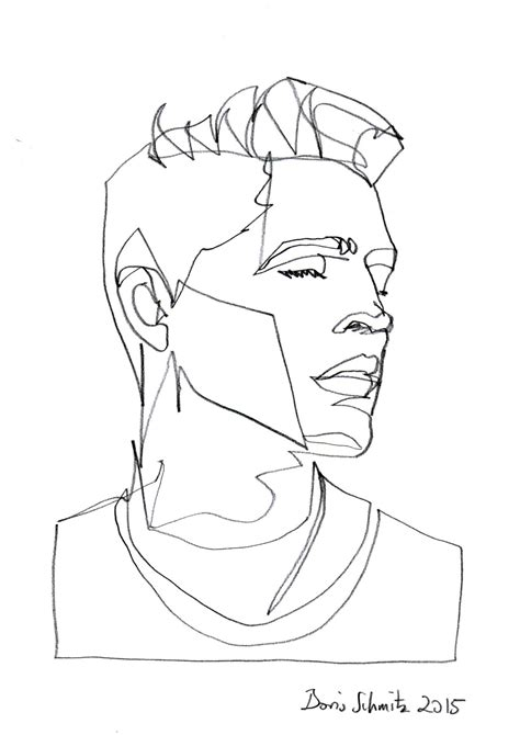 doodle line drawings borisschmitz quot gaze 170 quot one continuous line drawing by