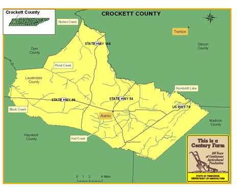 map of crockett texas images