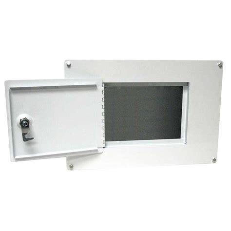 between the studs gun cabinet homak security ws00017001 between the studs white wall
