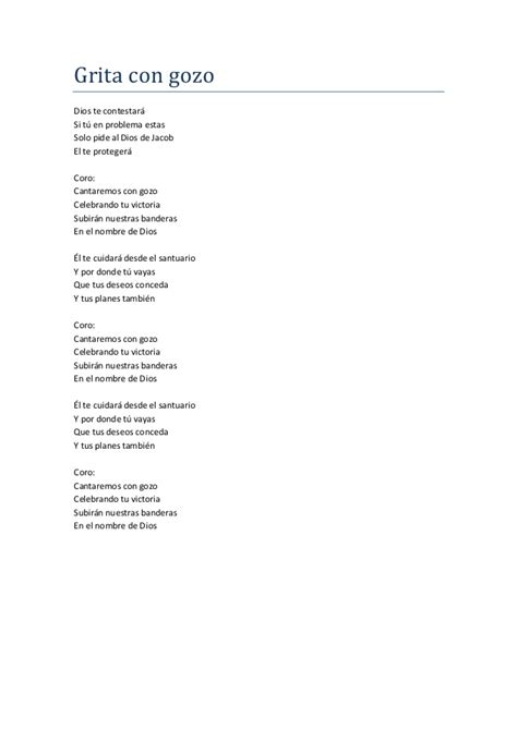 letra de cantos cristianos letras de himnos cristianos