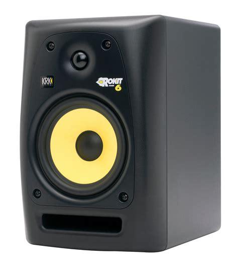 Speaker Monitor krk rp6g2 rokit g2 6 inch powered studio monitor single speaker musical instruments